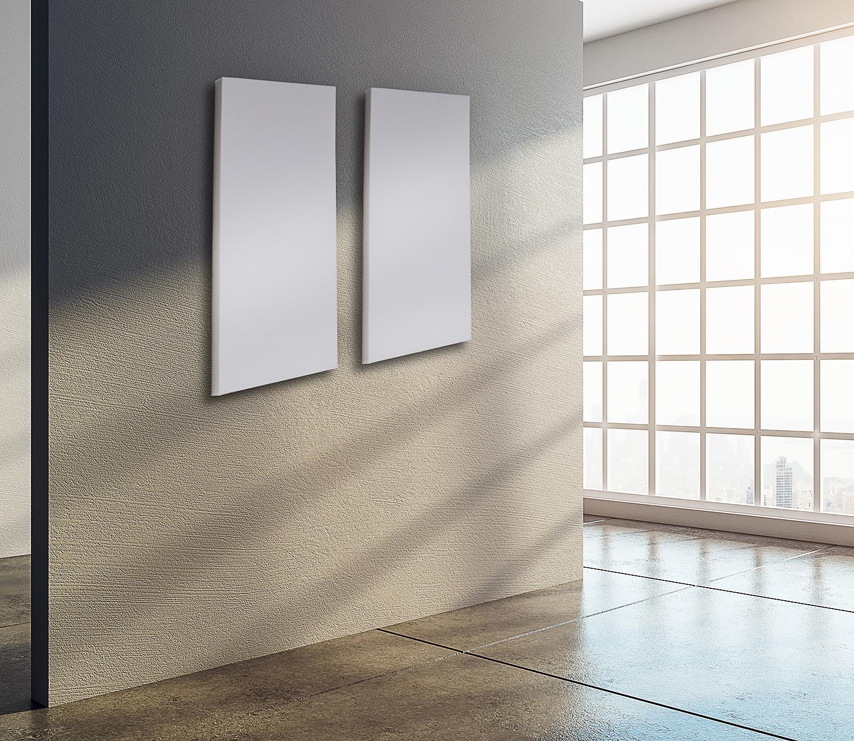 schallschutzplatten streifen weiß