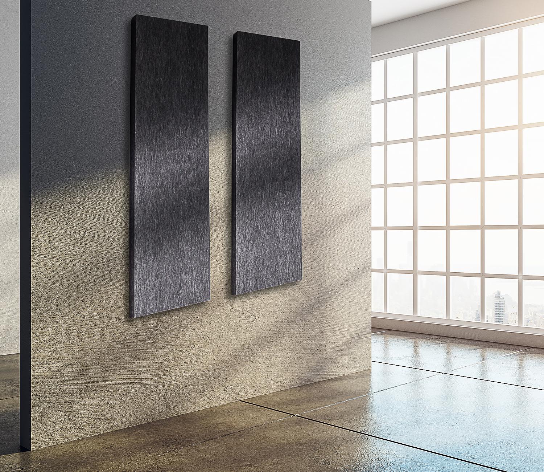 schallschutzplatten streifen dunkelgrau